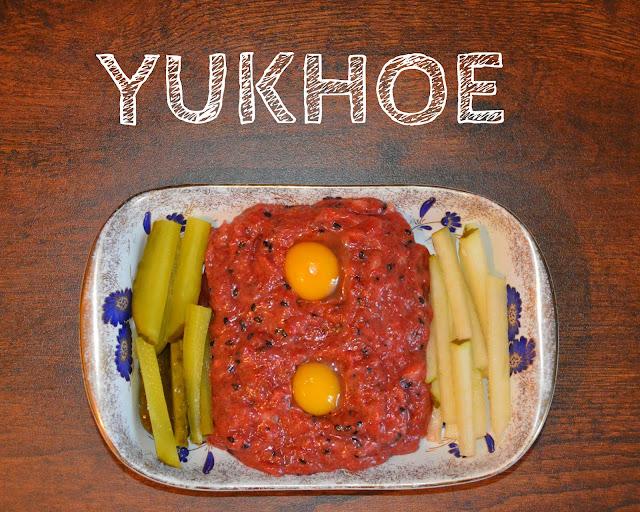 Yukhoe (육회), czyli nadchodzi nowy dzień wołowiny.