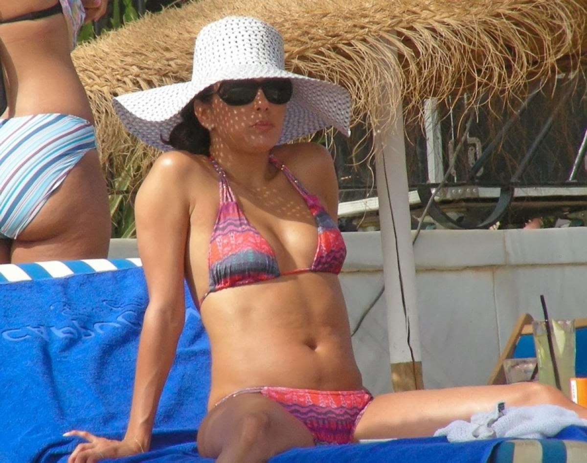 Eva Longoria in Marbella, Spain