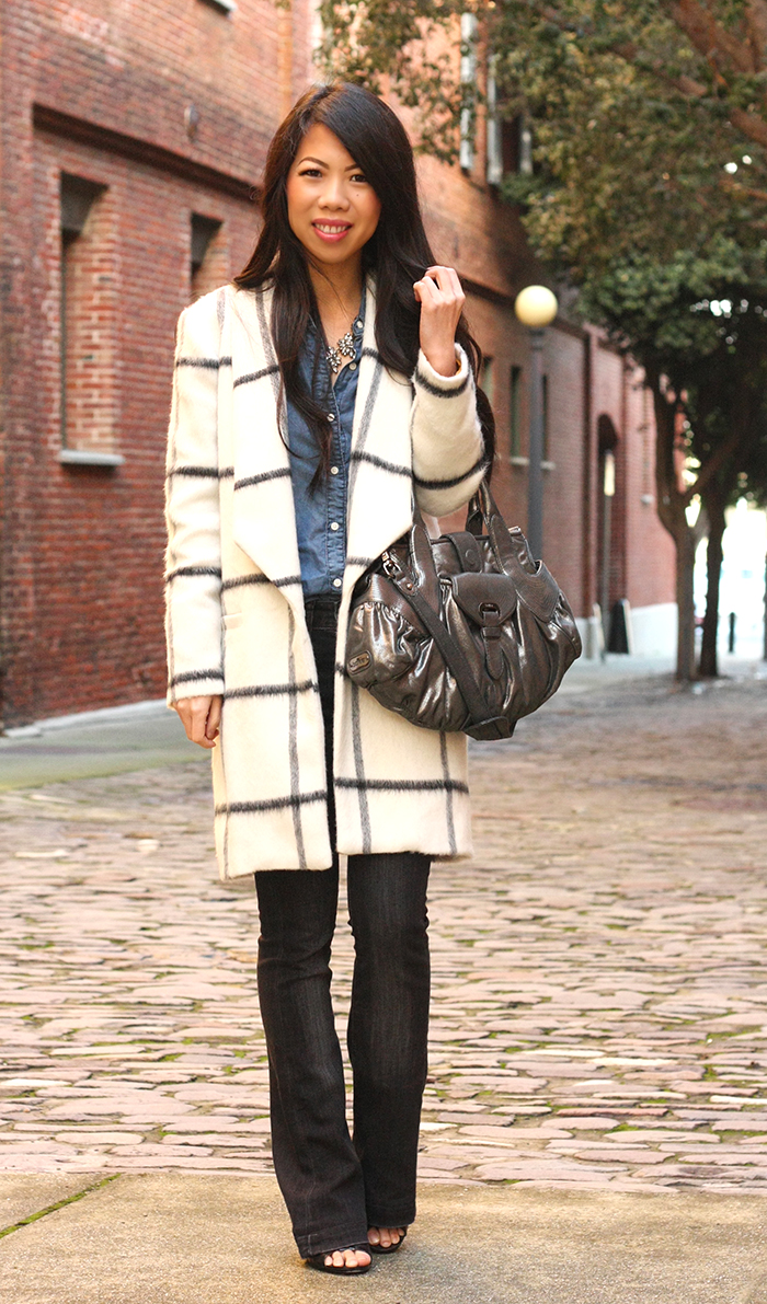 All About Fashion Stuff: Anthropologie Windowpane Car Coat   Gap ...