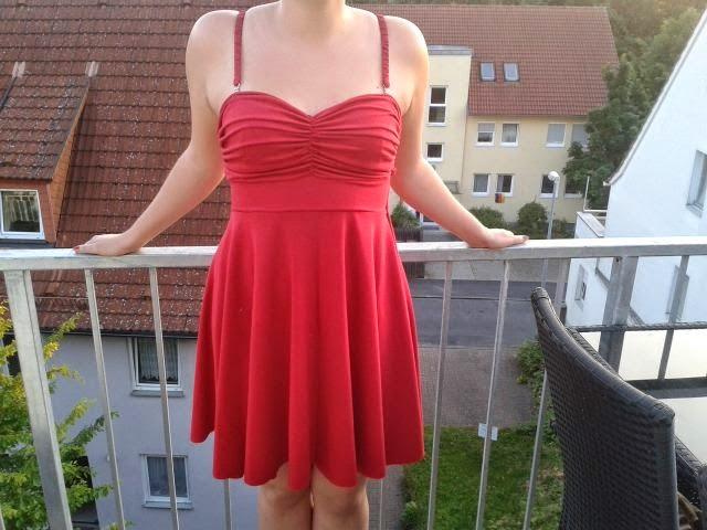Sommer Kleid rot