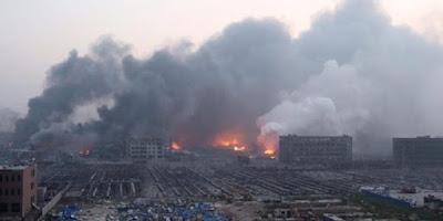 Ledakan Besar di Cina