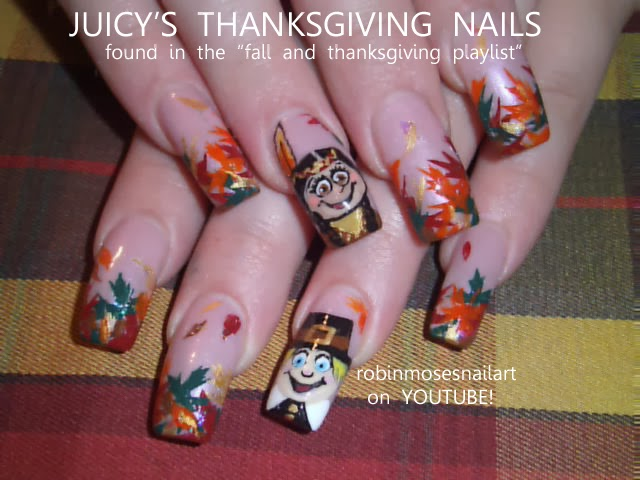 Robin moses nail art fall leaves fall leaf autumn leaves cute nail art tutorials for fall and the thanksgiving season click here and learn please share this link to everyone who wants to learn art and have fun prinsesfo Choice Image