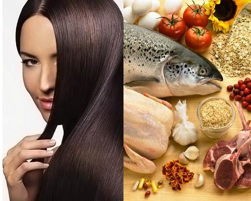 makanan untuk kesehatan rambut , kesehatan rambut , rambut rontok