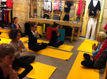 Lole Yoga Meet-Up Paris Feb 2013