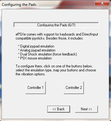 ePSXe Emulator 1.8.0 - Config Pad
