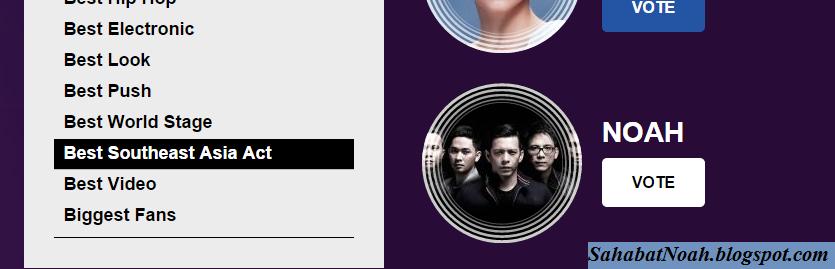 NOAH MTV Music Award 2014