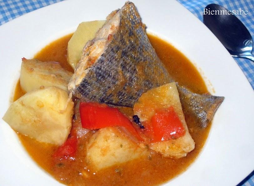 guiso de patatas y pescado 3