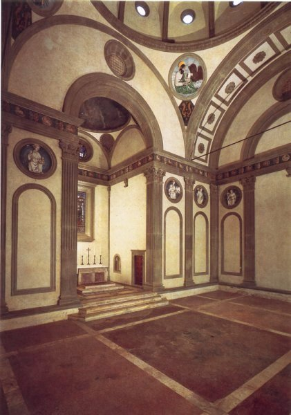 History of architecture renaissance architecture for Sagrestia vecchia