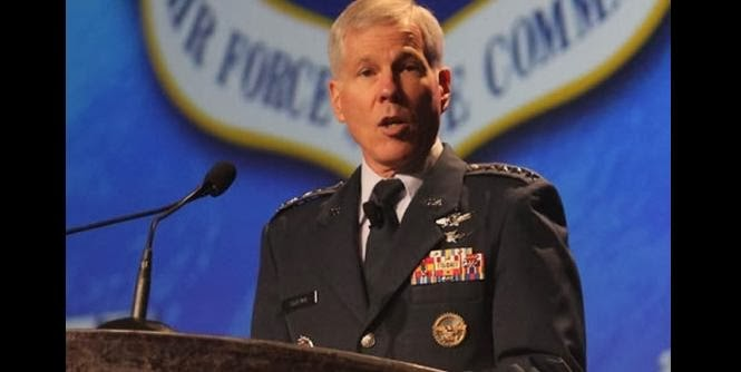 Gen. William L. Shelton, head of the U.S. Air Force's Space Command. Credit: Space Foundation