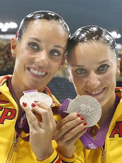 cola de pescado pelo nadadoras sincronizadas olimpiadas juegos olímpicos londres
