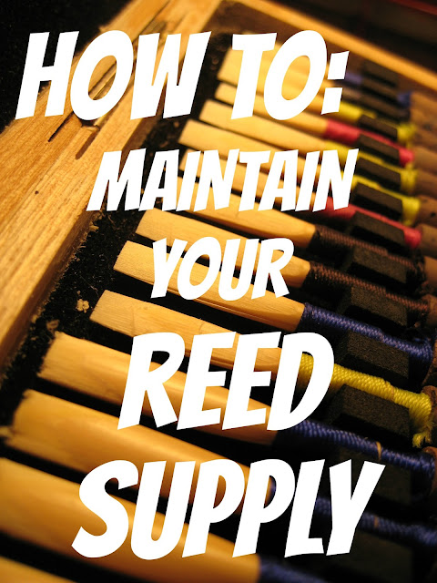 how to maintain your reed supply