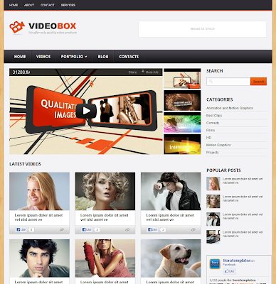 video blog template