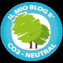 Il mio blog non produce CO2