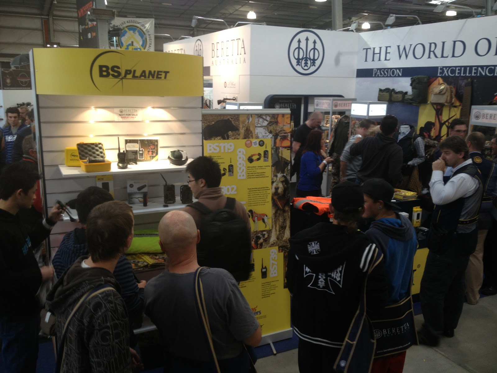 Expo Stand Beretta : Apocalypseequipped events ssaa shot expo
