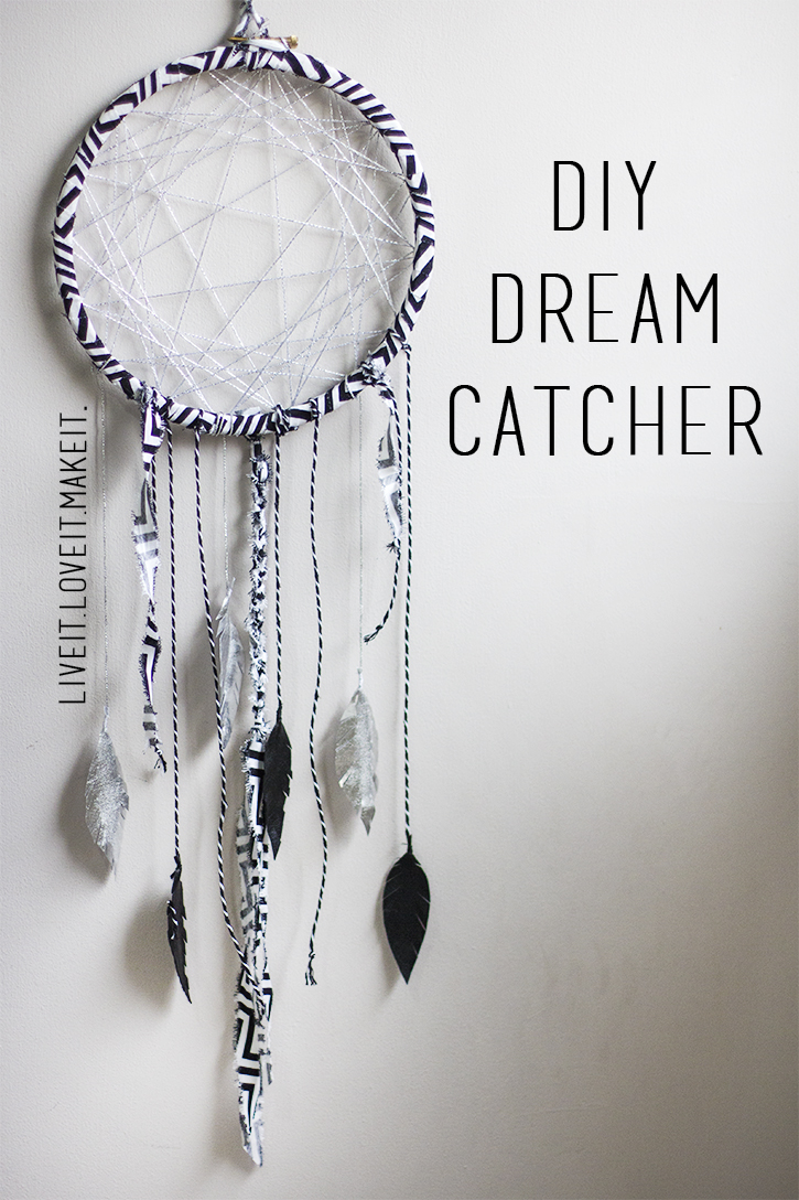 Live it love it make it makers month make it dream for Dream catchers how to make them