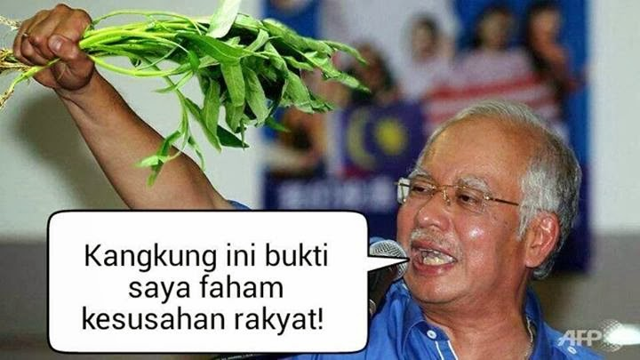 "RAKYAT FIRST! EAT KANGKONG!! WELCOME 2 TAIPING "" D LAND OF PEACE "" HAPPY CNY 2014 !!"