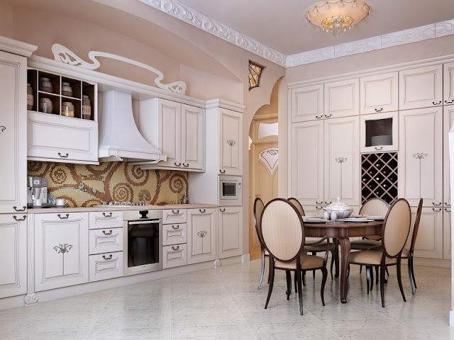 Luxury Mindblowin Kitchen Interior Design
