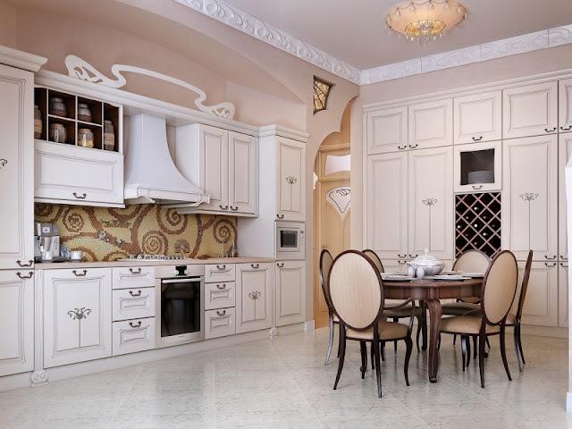 Luxury Mindblowin Kitchen Interior Design
