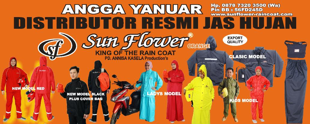 RAINCOAT SUN FLOWER Sunflower Raincoat