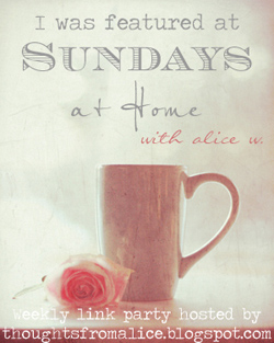 Featured at Sundays at Home