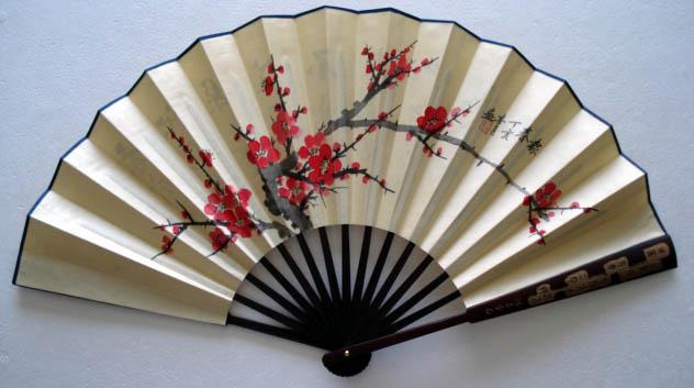 chinese fan dances