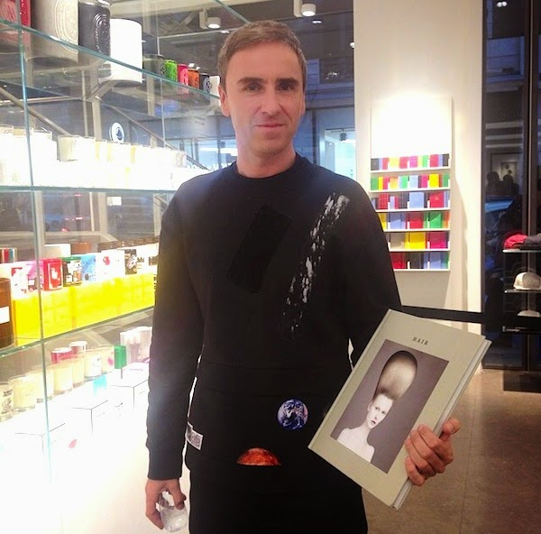 Raf Simons at Colette Paris 26th September 2014