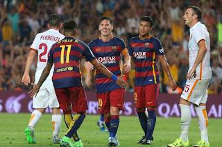 برشلونة تواجه روما