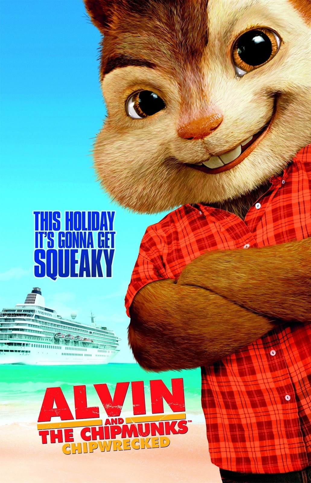 Playing around while aboard a cruise ship, the chipmunks and chipettes accidentally go overboard and end up marooned