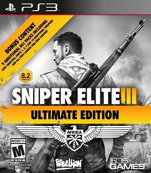 descargar Sniper Elite III Ultimate Edition para ps3 playstation 3 español
