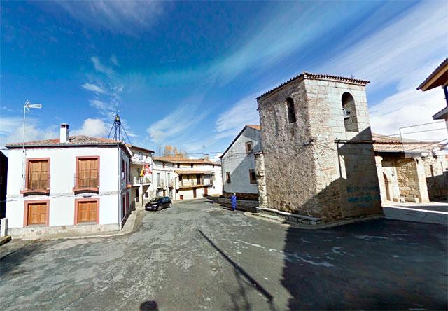 Plaza de san Bartolomé de Béjar imagen Google Maps