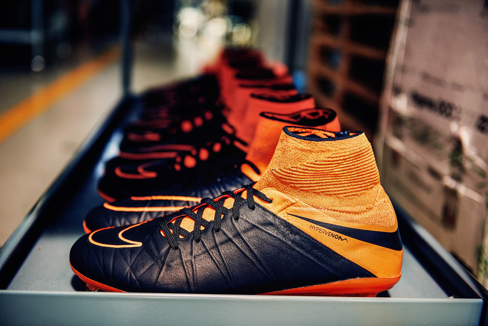 Boot design by nike - The Nike Tech Craft Football Boots Collection Is The Most Advanced Leather Boot Collection Ever Set To Be Available From 13 August 2015 At Selected
