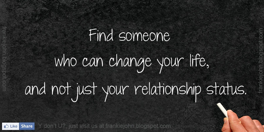 who can change your life  and not just your relationship statusNot Caring Relationship Quotes