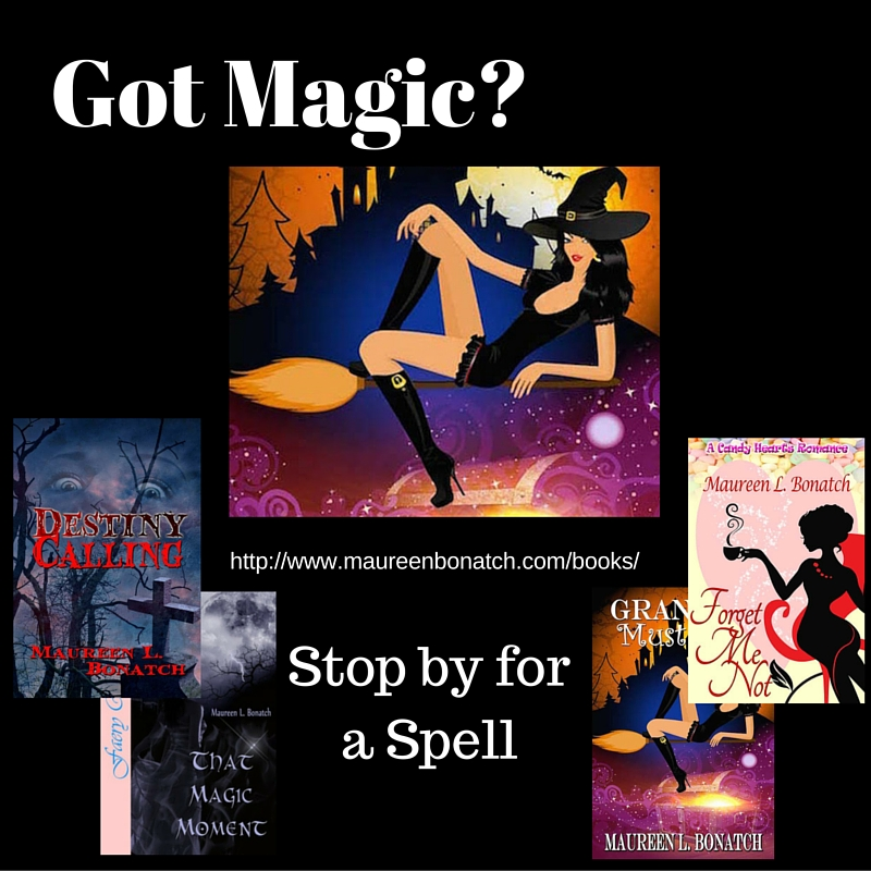 Check out my Paranormal Romance & Fantasy Fiction on my Website