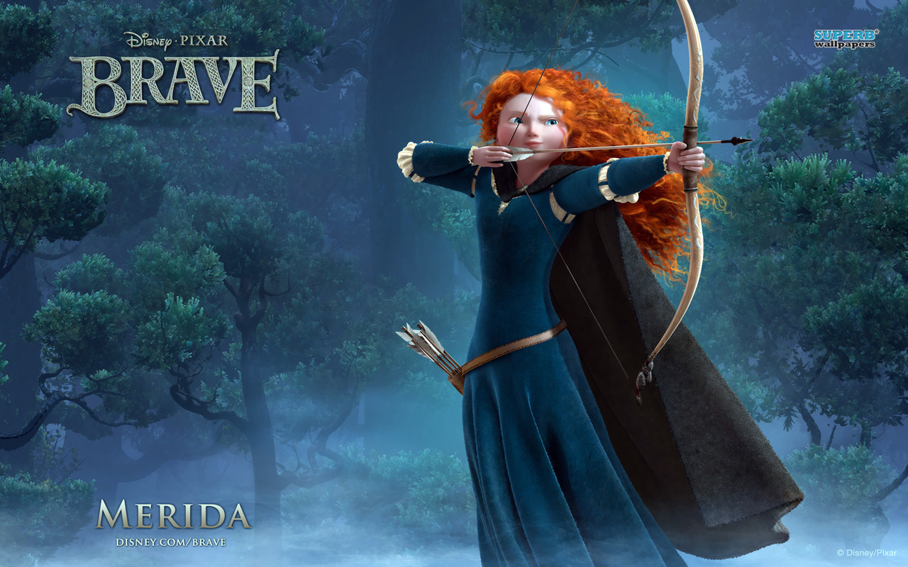 Brave s Princess Merida Wallpapers HD Wallpapers - princess merida in brave wallpapers