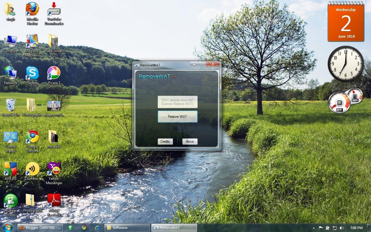 Windows 7 activation remove wat v2 2 5 2 crack chingliu
