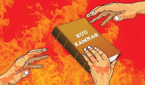 RUU Kamnas - TNI Tegaskan Tidak Membawa Kepentingan Tertentu