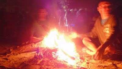 Bonfire in Rishikesh