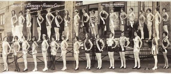 atlantic city en los años 20 Concurso belleza