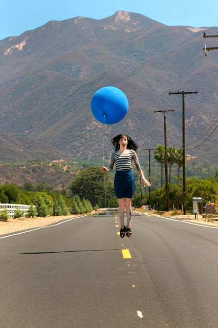 blue balloon - lift off - catherine masi  (photo by myriah bujak)