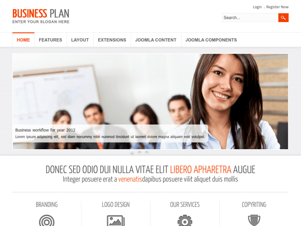 Free Joomla Business Templates