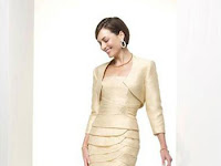 Short Mother Of The Bride Dresses With Jackets