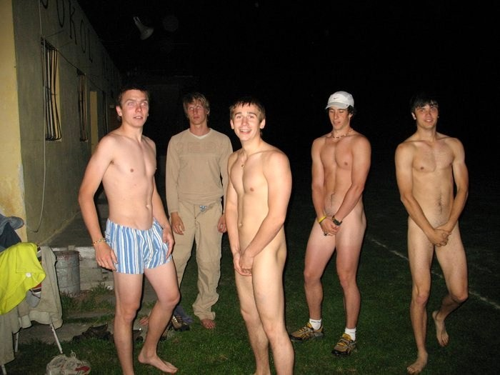Frat Boys Stripped Naked