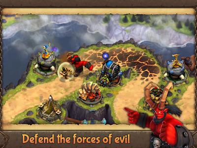Evil Defenders v1.0.16 MOD APK+DATA
