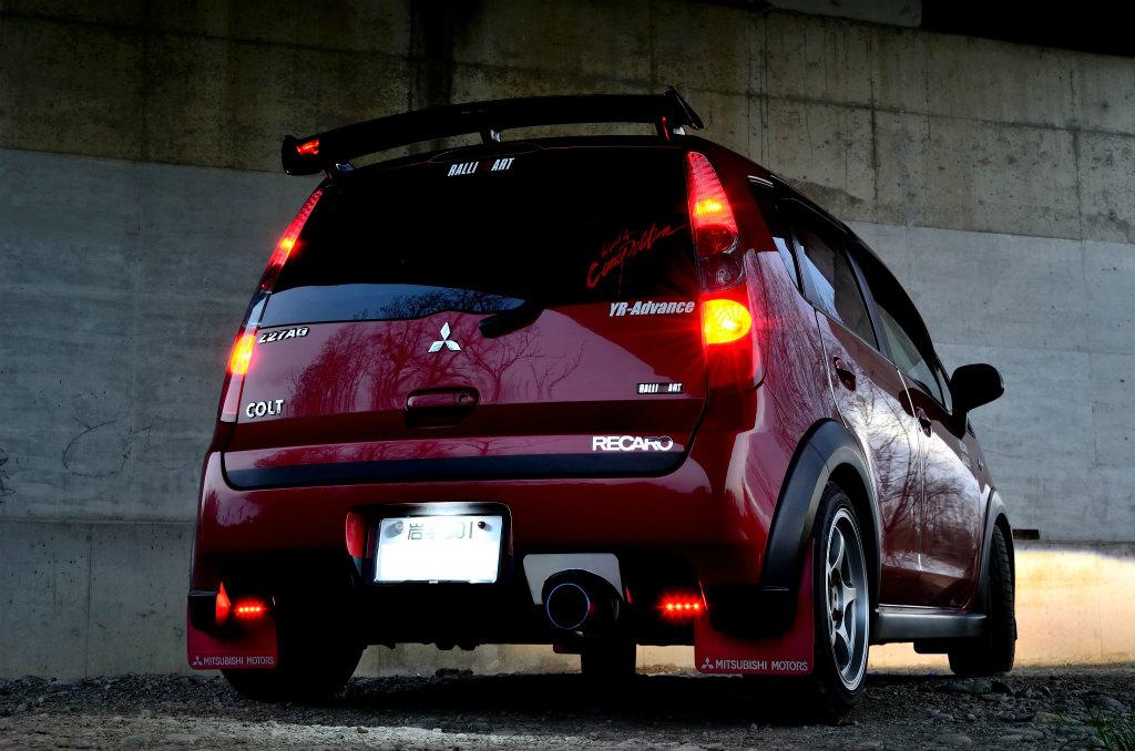 Mitsubishi Colt, 三菱, 日本車, チューニングカー, スポーツカー