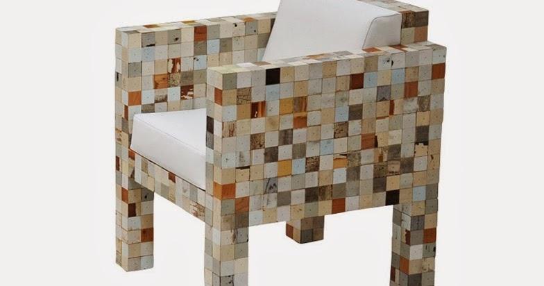 Muebles realizados con peque as piezas a partir de restos for Muebles para piezas pequenas