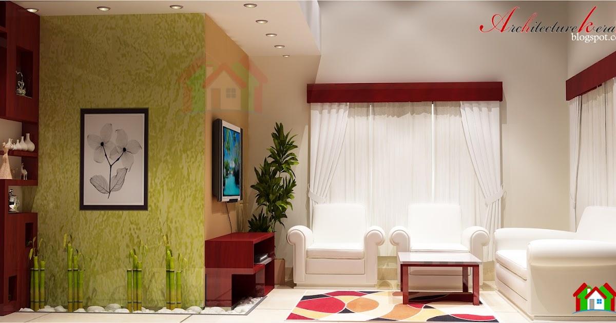 Interior design of living room architecture kerala for Kerala style living room interior designs
