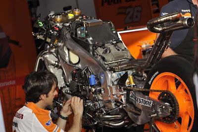 Berat motor minimum MotoGP di musim 2013 di tambah