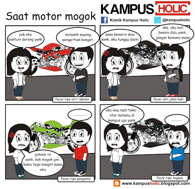 #060 solusi mahasiswa Saat Motor Mogok