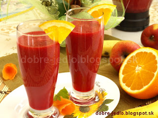 Zeleninovo-ovocné smoothie - recepty
