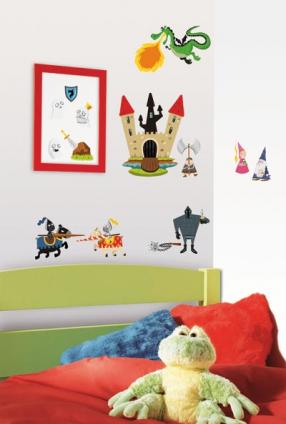 Murales gigantes y pegatinas para la pared del cuarto de for Pegatinas murales pared